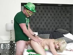 Babe, Bedroom, Big Tits, Blonde, Blowjob, Couch, Cum In Mouth, Cumshot, Dick, Doggystyle,