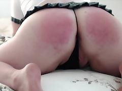 Amateur, Ass, Babe, BBW, Big Ass, Brunette, Chubby, Paddling, Punishment, Sex Toys,