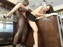 Ass, Big Black Cock, Bold, Brunette, Pornstar,