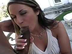Big Black Cock, Big Cock, Big Tits, Black, Blowjob, Clamp, Couple, Cowgirl, Doggystyle, Fake Tits,