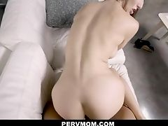 Big Tits, Blowjob, Brunette, Cum, Dick, Fantasy, HD, Kitchen, Lingerie, MILF,