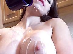 Amateur, Anal Sex, Babe, Big Tits, Blowjob, Brunette, Cowgirl, Cum, Cumshot, Deepthroat,