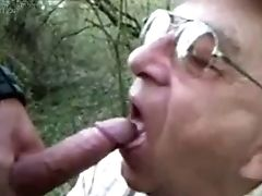 Blowjob, Daddies, Felching, Nature, Old, Old And Young,