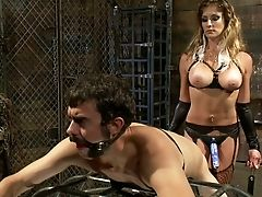 Ass, Bondage, Boyfriend, Clamp, Domination, Gagging, Mistress, Money, Sex Toys, Strapon,