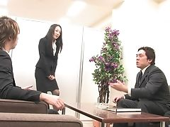 Cum In Mouth, Gangbang, Hardcore, Japanese, Office,