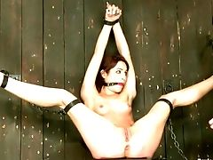 Amber Rayne, BDSM, Brutal, Feet, Flexible, Nipples, Spreading, Torture, Whore,