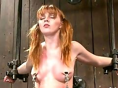 BDSM, Bondage, Innocent, Marie Mccray, Nipples, Sex Toys,