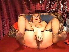Freckled, Ginger, Massage, Masturbation, MILF, Webcam,