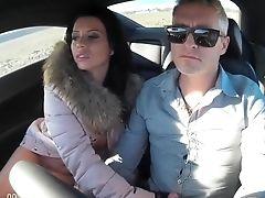 Blowjob, Car, European, Public,