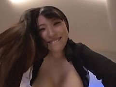 Big Tits, Clothed Sex, Hardcore, Japanese, Mmf, Natural Tits, Sex Toys, Thong, Threesome,