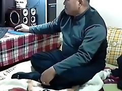Couple, Dick, Ethnic, Grandpa, Granny, Korean, Riding, Webcam, Wife,