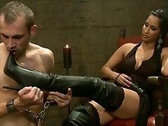 BDSM, Boots, Brunette, Brutal, Facesitting, Femdom, Hardcore, Mistress,