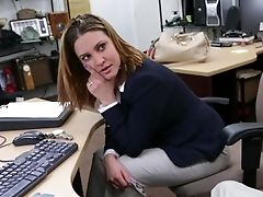Babe, Big Tits, Blowjob, Desk, Foxy Lady, From Behind, Hardcore, Horny, Natural Tits, Office,