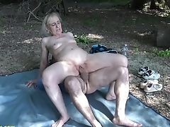 Big Cock, Fucking, Granny, Horny, Mature, Nature, Old, Rough, Sex Toys,
