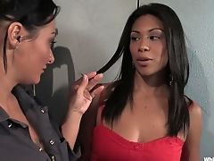 Black, Cassandra Cruz, Exotic, Fetish, Lesbian, Pornstar, Sandra Romain,