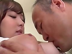 Big Natural Tits, Big Tits, Couple, Cowgirl, Hardcore, Japanese, Licking, Long Hair, Miniskirt, Missionary,