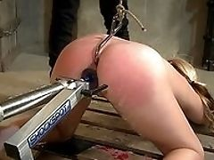 Abuse, Blonde, Close Up, Doggystyle, From Behind, Fucking Machine, Hardcore, HD, Mistress, Pussy,