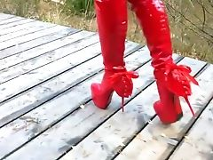 BDSM, Boots, European, Extreme, Foot Fetish, High Heels, MILF, Sexy, Wife,