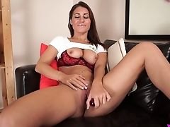 Amateur, Ass, Beauty, Big Tits, Clit, HD, Jerking, Jess West, Long Hair, Masturbation,