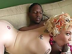 Big Black Cock, Big Cock, Black, Blonde, Blowjob, Bold, Bra, Candy Monroe, Couple, Cowgirl,