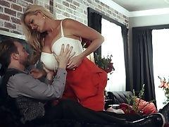 Grote Tieten, Blond, Beha, Paar, Nep Tieten, Kelly Madison, Lang Haar, Milf, Pornoster,