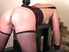 Anal Sex, Anal Toying, BDSM, Blonde, Butt Plug, Fetish, French, Spanking, Submissive,