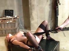 BDSM, Blonde, Cute, Fetish, Game, Spanking, Stockings, Torture, Wax,
