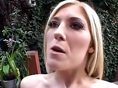 Anal Sex, Big Tits, Blonde, Cum Swallowing, Cumshot, Double Penetration, Facial, Gaping Hole, Outdoor, Pornstar,