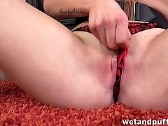 Balls, Blonde, Dirty, Masturbation, Santa, Sex Toys, Solo,