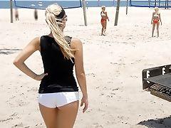Amateur, Beach, Beauty, Bianca Jacobs, Bikini, Blonde, Brunette, Cute, Fitness, Long Hair,