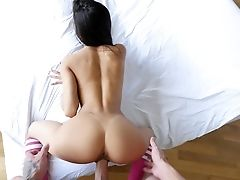 Ass, Beauty, From Behind, Hardcore, Latina, Petite, Riding, Skinny, Tanned, Venezuelan,