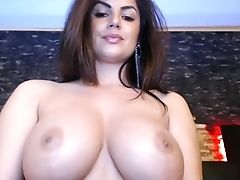 BBW, Brunette, Lingerie, Solo, Webcam,