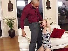 Babe, Blonde, Blowjob, Boobless, Close Up, Couch, Cumshot, Doggystyle, Extreme, Facial,