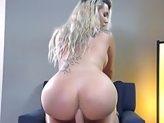 69, Ass Fucking, Bedroom, Big Ass, Big Cock, Big Tits, Blonde, Blowjob, Cumshot, Doggystyle,