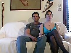 Amateur, Casting, Couple, Double Penetration,