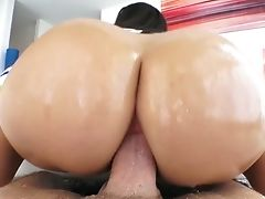 Anal Sex, Ass, Ass Fucking, Beauty, Big Tits, Blowjob, Boots, Brunette, Cowgirl, Cum Swallowing,