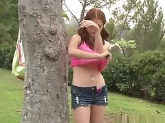 Amateur Teens, Blonde, Boobless, Brunette, HD, Outdoor, Public, Striptease, Teen,