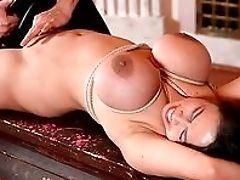 Big Tits, Bondage, Brunette, Close Up, Dildo, Doggystyle, Fake Tits, HD, MILF, Mistress,