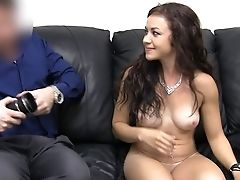 Amateur, Babe, Blowjob, Brunette, Casting, College, From Behind, Hardcore, Office, Petite,