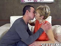 Big Cock, Blonde, Blowjob, Cowgirl, Dick, Doggystyle, Facial, Granny, HD, Mature,