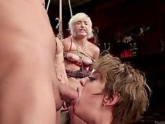 Analsex, Arsch, Arschficken, Baby, Bdsm, Große Titten, Blond, Blowjob, Bondage, Ohne Titten,