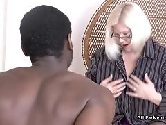 Amateur, Black, Granny, Mature, Old,