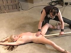 BDSM, Blonde, Cute, Extreme, Fetish, Insertion, Pussy, Submissive, Torture, Wax,