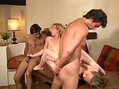 Blonde, Boobless, Brunette, Doggystyle, French, Lesbian, Teen, Threesome,