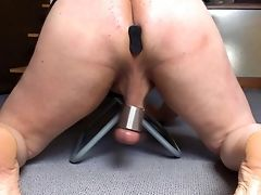 Amateur, BDSM, Butt Plug, Mature, Sex Toys,