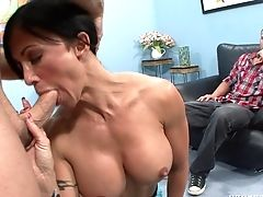 Big Tits, Blowjob, Cougar, Cowgirl, Doggystyle, Hardcore, Long Hair, MILF, Missionary, Reality,