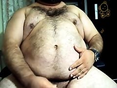 Bear, Big Cock, Cum Tributes, Daddies, Fat,