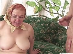 Amateur, Big Cock, Blowjob, Cum In Mouth, Cumshot, Drooling, Granny, Handjob, Hardcore, HD,