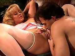 Anal Sex, Big Tits, Blonde, Couple, Dyanna Lauren, Fake Tits, Missionary, Nylon, Pussy, Riding,