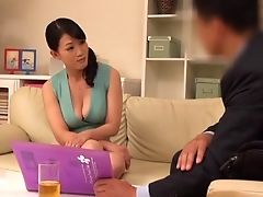 Asian, Blowjob, Clothed Sex, Couch, Couple, Doggystyle, Ethnic, Hardcore, Japanese, Licking,